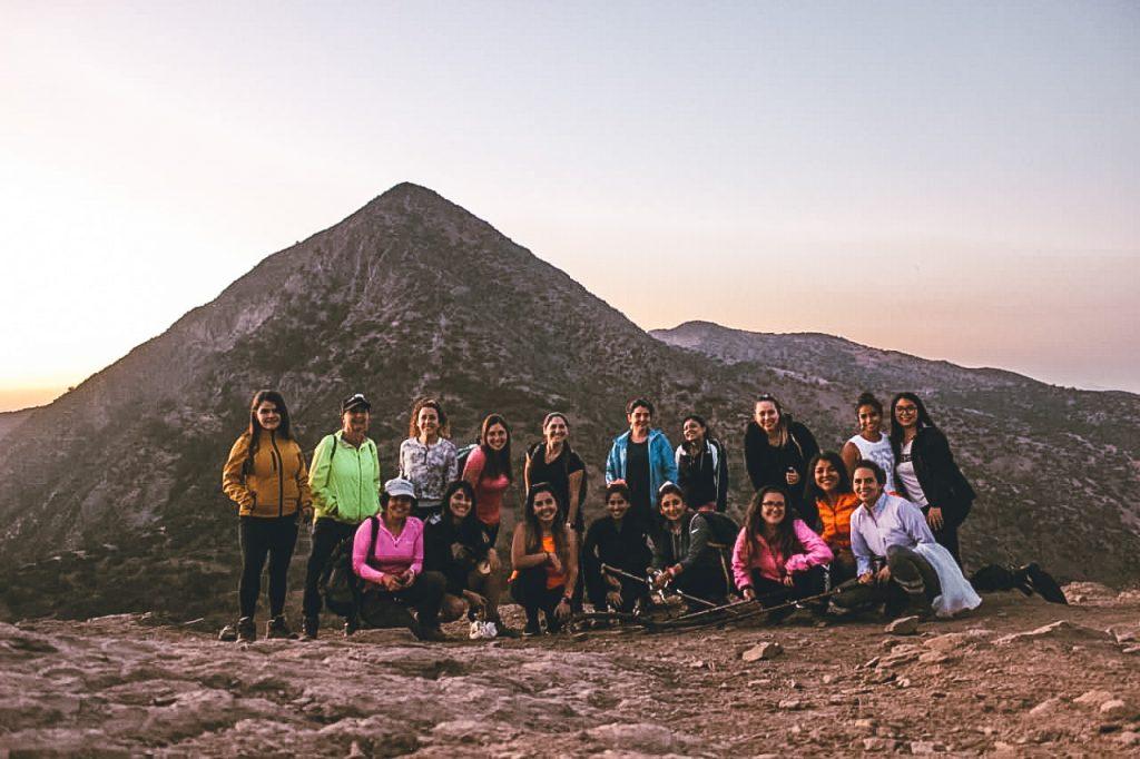 Pum pal cerro, trekking con amigas